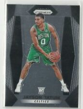 2017-18 PANINI PRIZM JAYSON TATUM BASE ROOKIE RC #16 DUKE CELTICS ROY? CRAZY HOT