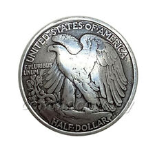 Biker Conchos American Eagle Half Dollar Reproduction Coin Concho screw back