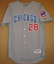 CHICAGO CUBS PAUL MAHOLM 2012 ROAD GRAY MLB JERSEY