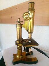 Microscope ancien NACHET ET FILS PARIS très beau