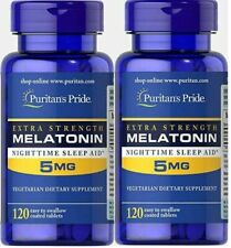 5MG x 240 Tablets Melatonin Melatonina INSOMNIA SLEEPING PILLS- FREE POSTAGE !!!