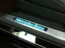 Mercedes 280-E (W123) Illuminated Door Sill (Scuff Plate Kit) With Courtsey LED