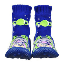 Toy Story Non-Slip Rubber Slipper Socks Baby Toddler Boys Size 24 mo Shoe 6.5