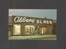 Glass works postcard ebay business card albany glass works flushing new york mirrors shades reheart Gallery