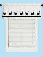 Munchkin Cat Window Valance Curtain in Your Choice of Colors