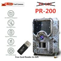 MICOKE 1080P HD Trail Camera Hunting Camera 120° PIR Sensor Night Vision Camera