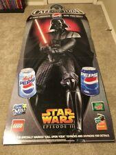 Darth Vader Lifesize Cardboard Standup Pepsi
