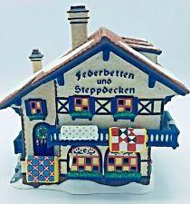 Department 56 Federbetten Und Steppdecken Alpine Village Series Heritage Village