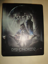 BRAND NEW Dishonored 2 Edition (Empty) STEELBOOK MINT