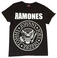 """Nouveau RAMONES /""""HEY HO LETS GO/"""" pour homme Taille adulte S-2XL Band Concert Shirt"""