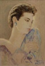 Nicola Del Basso. Bildnis einer jungen Frau.