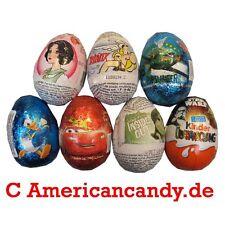 NEU:  8x Schokoladen Ü-Eier (6 Sorten zur freien Auswahl) Disney  (5,62€/100g)