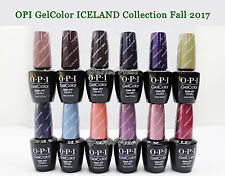 OPI GelColor ICELAND Fall 2017 Collection SET OF 12 Gel Polish Color GC I53 >I64
