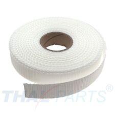 10m Gurtband 25mm Breit - ca. 1,6mm stark - Rohweiss  PP Taschengurt Taschenband