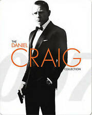 007 The Daniel Craig Collection Blu-ray 3 Movies Steelbook Limited Edition Bond