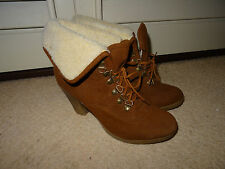 River Island Mid Heel (1.5-3 in.) Faux Suede Boots for Women