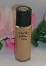 New Shiseido Perfect Refining Foundation Nat Deep Beige B60 .5 fl oz Travel Size