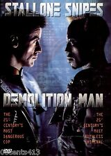 Demolition Man (Full / widescreen DVD) Sylvester Stallone, Wesley Snipes *R*