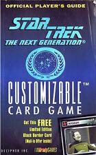 Star Trek Next Generation Customizable Card Game Players Guide (1995, Paperback)