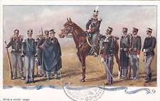 A6681) GRANATIERI DI SARDEGNA, UNIFORMI STORICHE DAL 1871 AL 1903.