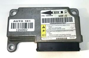 ✅ 07 Chevrolet SRS Airbag Control Module 15905809 GM