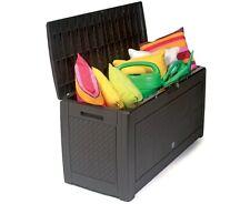 Gartenbox Auflagenbox Box Gartentruhe Gartenkasten Kissenbox 2 Farben 1190x480