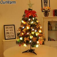 2FT Tabletop Artificial Small Mini Christmas Tree Xmas New Year Home Decor