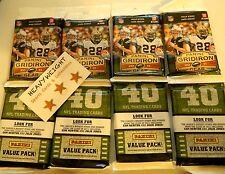(2) 2011 Panini Gridiron Gear Football 40 Card RACK Packs Julio Jones Cam Newton