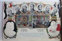 AK Deutschland 200 jahrigen Jubiläum Preußen a. Königreich 1901 gebraucht #PE588
