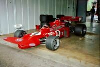 PHOTO  HSCC SILVERSTONE 24.9.88  STP LIVERY OF RONNIE PETERSON'S TEAM MARCH 711