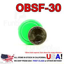 Sanwa Denshi Original OBSF-30 Green Push Button JAMMA guitar killswitch 30mm