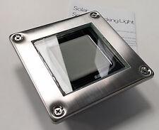 Stainless Steel Solar Deck Light