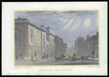 1831 Londres-Original Antique print Newgate Old Bailey (21)