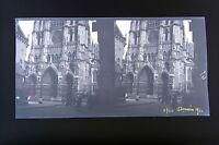 Amiens Picardie Francia Foto Stereo Negativo Su Film Morbido