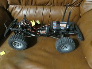 RC Rock Crawler Truck Metal Frame 4x4 Aluminum Wheels Warhead Scaler For Parts