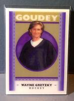 2019 Upper Deck Goodwin Champions Goudey #GL8 Wayne Gretzky Hologram Hockey Card