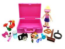 LEGO Genuine Friends Minifigure with Pink LEGO Case & 15 Random Accessories NEW