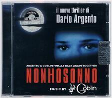 GOBLIN - DARIO ARGENTO NON HO SONNO CD  COME NUOVO!!!