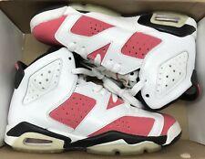 a78046645327 Jordan Retro VI 6 Coral Rose Pink White Black Infrared Carmine 384665-161  Sz 4y