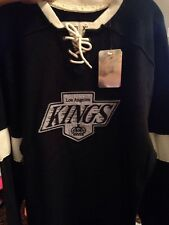 Los Angeles Kings Hockey Jersey sweatshirt  Medium Men Black CCM Vintage Jersey