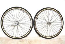 "1966 Schwinn Tiger Bicycle * S7 WHEEL SET * Bendix RB2 Hub * 26"" Tire Bike Part"