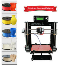 Free shipping Imprimante 3D acrylique Geeetech Reprap Prusa I3 Pro B MK8 LCD2004
