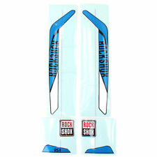 RockShox RS-1 XX Replacement Decal Set // Blue/White