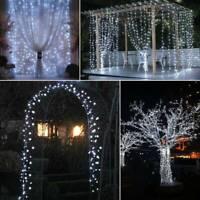 200 LED guirlande lumineuse 20M batterie fête mariage extérieur jardin SH