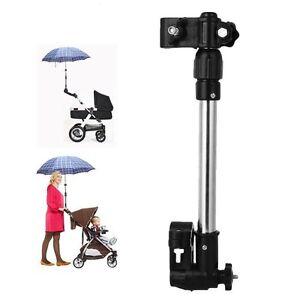 Soporte Paraguas Parasol o Sombrilla Carro Bebé Coche Silla de Paso o Bicicleta