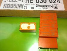 2 Pcs SCHRACK RE030024 PCB Relay 1NO coil=24VDC 6A/250Vac (M3812)