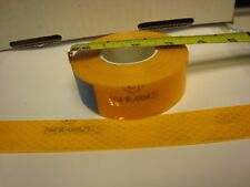 """ECE 104R-00821  AMBER YELLOW Reflective   Conspicuity Tape 1"""" x 25 ft"""