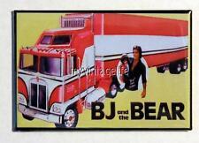 "Vintage BJ and the BEAR TV SHOW Greg Evigan - Kenworth 2"" x 3"" Fridge MAGNET ART"