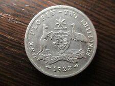 AUSTRALIA 1 FLORIN 1923
