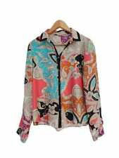 Button Down Shirt Dry-clean Only Floral Tops & Blouses for Women